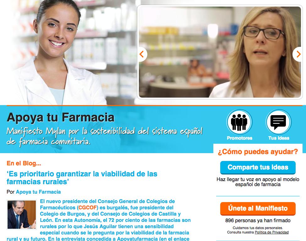 Apoyatufarmacia, un proyecto en defensa de la farmacia asistencial