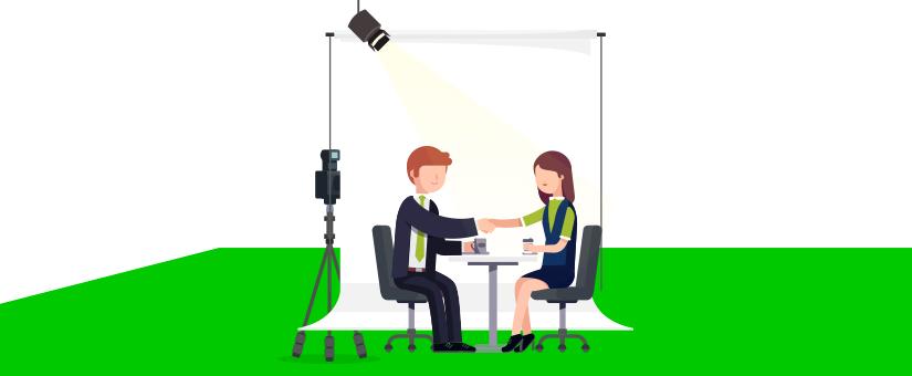 Cómo hacer una vídeo entrevista perfecta