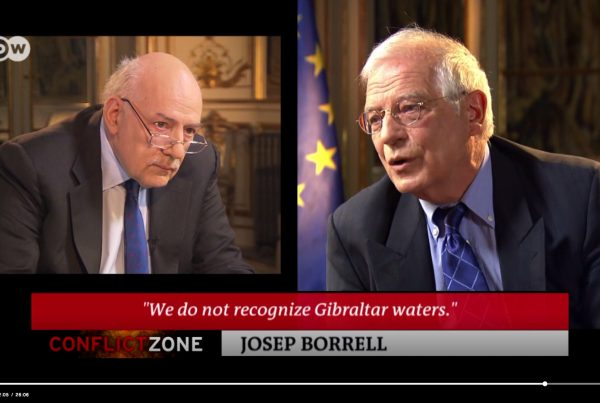 Carta abierta a un ministro cabreado Borrell