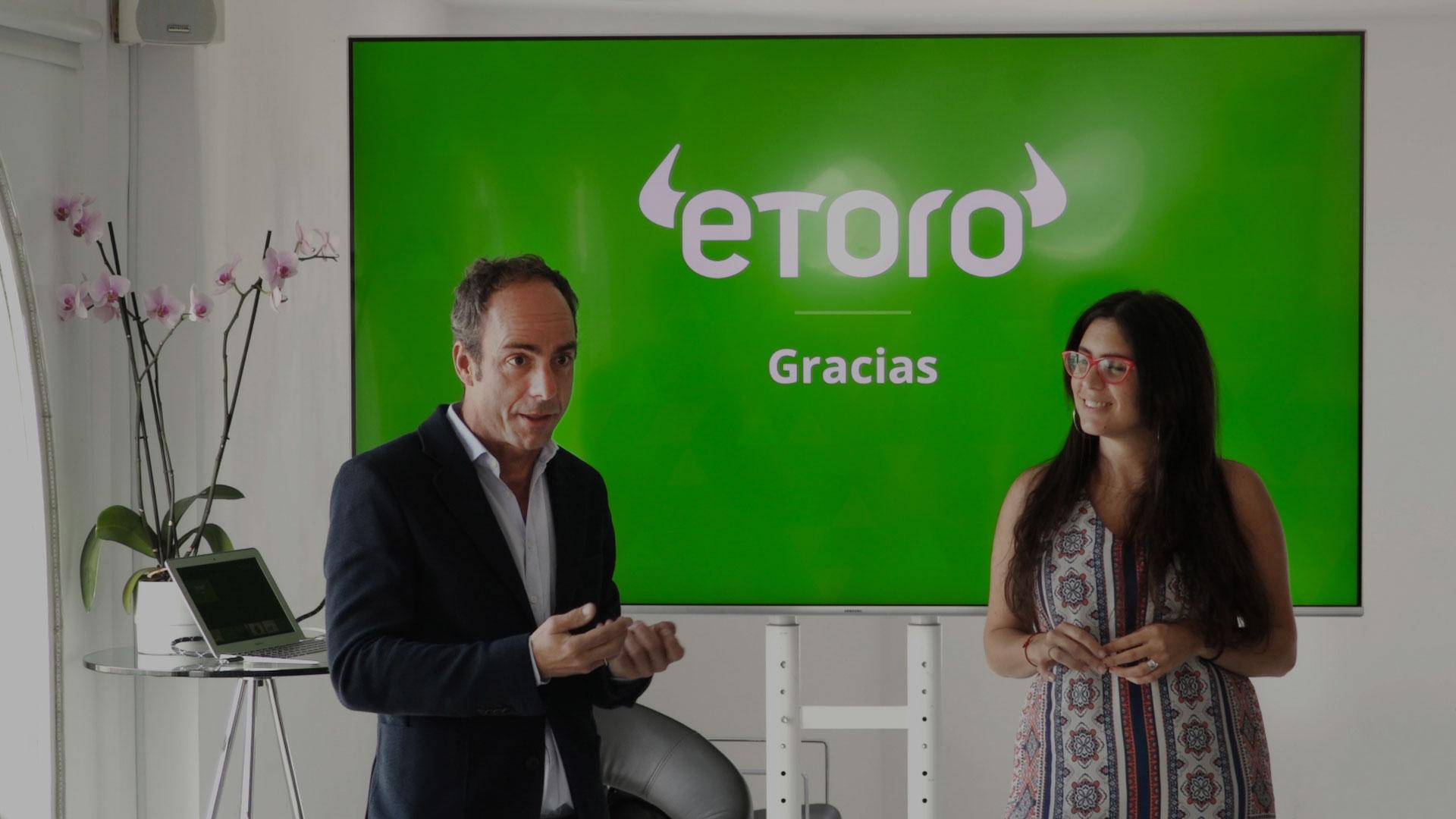 Rueda de prensa de eToro, una puesta en escena rompedora dentro del sector financiero